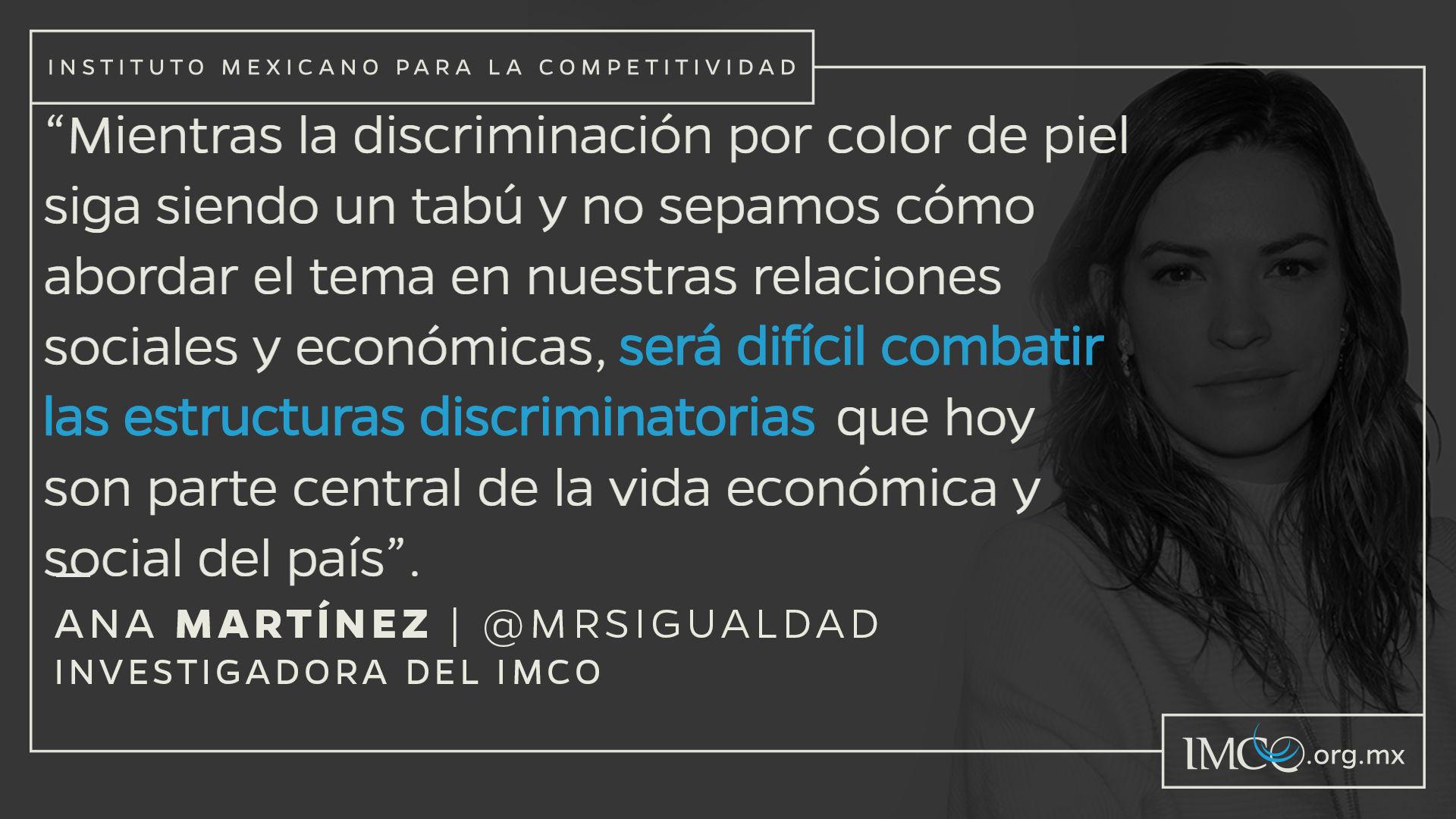 Para qué sí importa el color de piel en México? - Instituto Mexicano ...