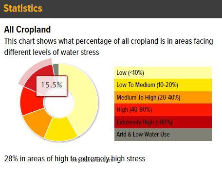 All cropland statistics