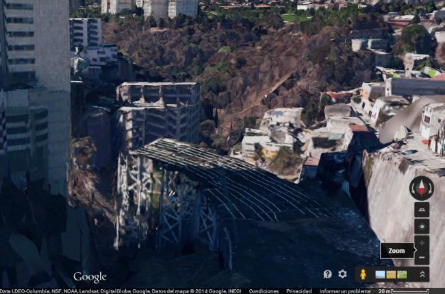 Imagen del puente de Hueyatlaco. Fuente: Google Maps