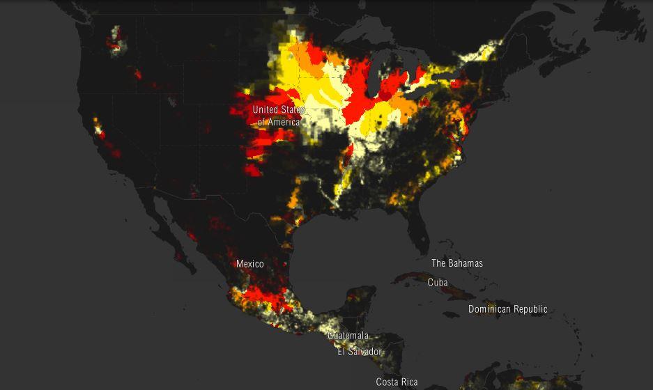 Mapa maíz México