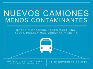 Nuevos camiones menos contaminantes