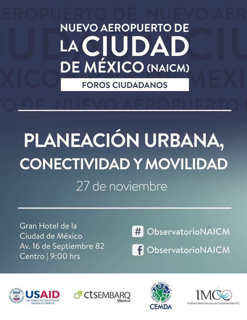 Planeación Urbana, Conectividad y Movilidad