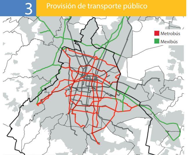 Provisión transporte público